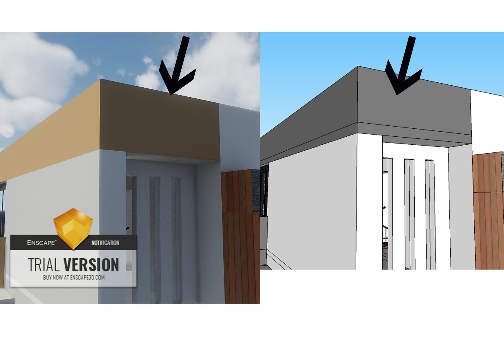 Not reading the SketchUP texture color - SketchUp - Enscape
