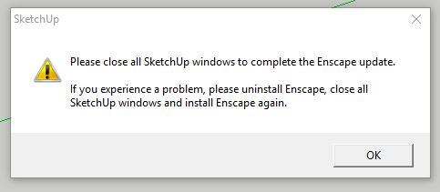 2 0 2 loading issues - SketchUp - Enscape Community Forum